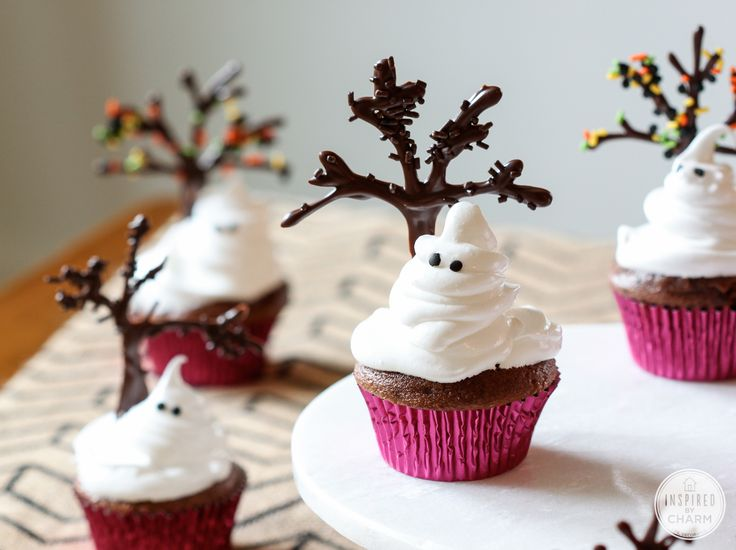 Cupcake Fantasma